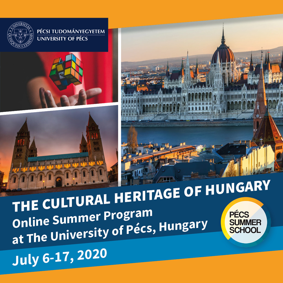 Online Summer School about the Cultural Heritage of Hungary